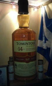 Largest whisky bottle in the world - Tomintoul 14 y.o. 105.3 litres