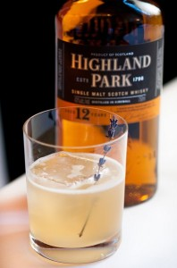 Broque cocktail Highland Park