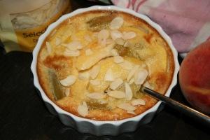 Clafoutis met appel en amandelen