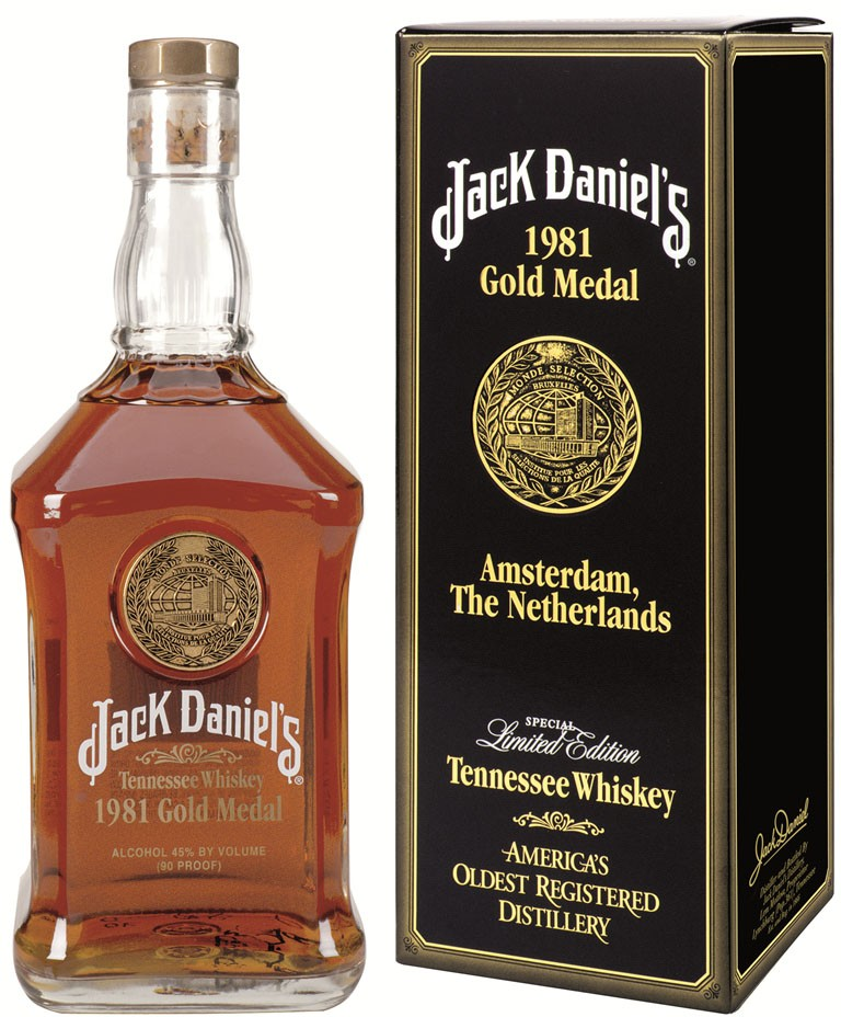 Verrassend Amerikaanse collectors items – Jack Daniels 1954 & 1981 Gold Medal SB-22