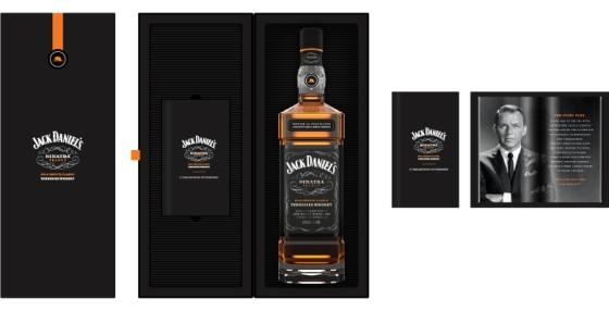 Jack Daniels Frank Sinatra Edition box