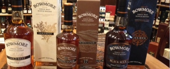 Bowmore travel retail 2014 review