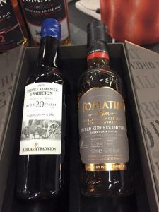 Tomatin Whisky meets Sherry PX