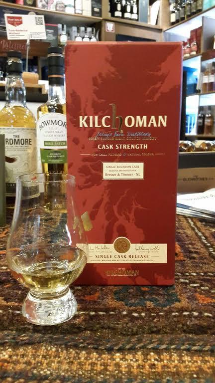 Kilchoman SC BT 2010 Bourbon