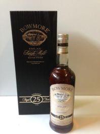 Bowmore 25yo  old bottling
