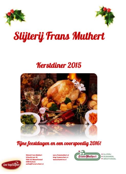 Kerstdiner 2015