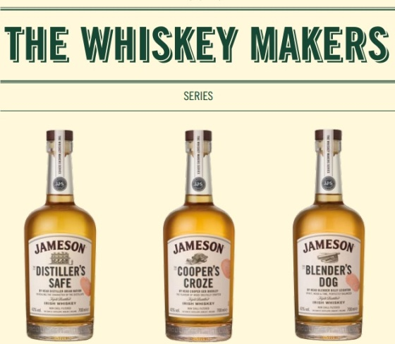 Jameson The Whiskey Makers Series