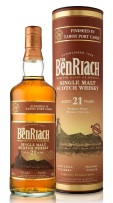 Benriach 21yo Tawny Port Finish