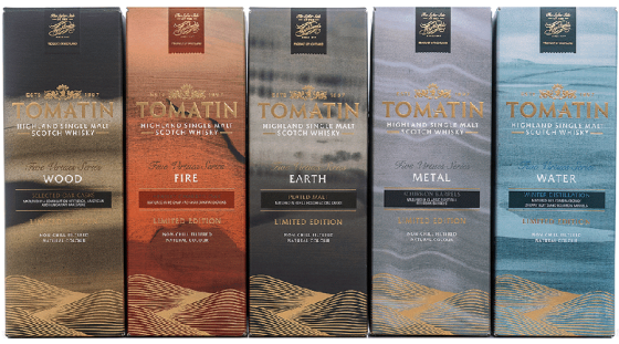 Tomatin 5 Virtues Box