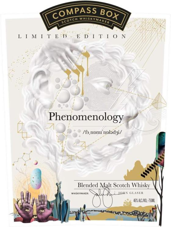 Compass Box Phenomenology front label