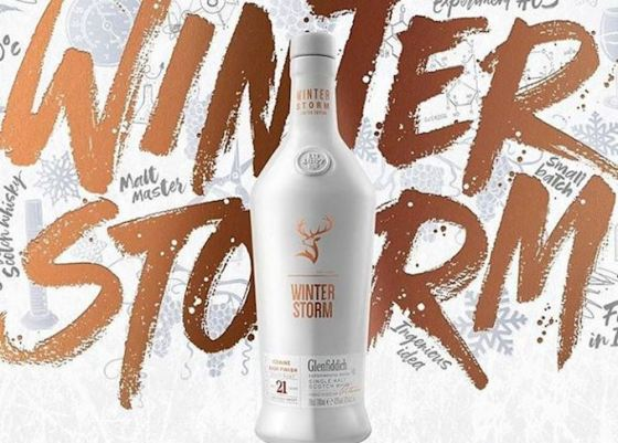 Glenfiddich Winter Storm poster