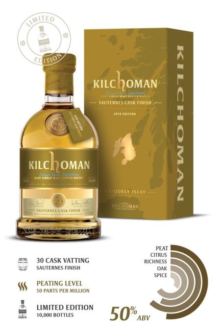 Kilchoman Sauterness Cask Finish 2018