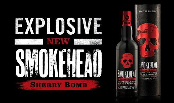 Smokehead Sherry Bomb poster