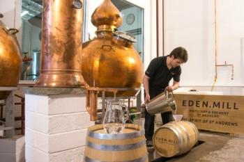 Eden Mill Distillery inside
