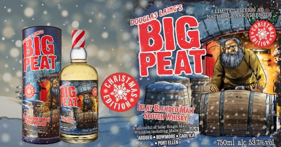 Big Peat Christmas Edition 2019 banner Monnik